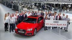 L'Audi A4 fête ses 25 ans