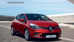 Prix cassés pour la Clio 4 Génération !