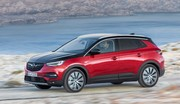 L'Opel Grandland X passe à l'hybride rechargeable