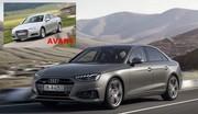 Audi A4 restylée : Le look avant tout