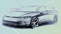 Volkswagen Golf 8 : Premiers croquis officiels de la nouvelle Golf