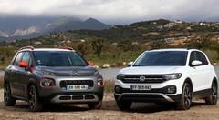 Essai Volkswagen T-Cross vs Citroën C3 Aircross : les corseovers