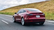 L'action de Tesla au niveau de janvier 2017