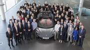 La 20 000e McLaren est sortie d'usine