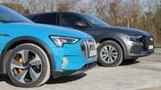Essai Audi e-tron vs Audi Q8 : votre SUV premium, diesel ou électrique ?