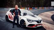 Renault Megane RS Trophy-R : record au Nürburgring