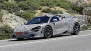 Une McLaren 720S hybride surprise sur route