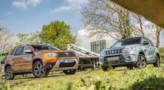Essai Dacia Duster VS Suzuki Vitara : concurrence loyale