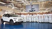 Fiat 500X : un demi-million d'exemplaires produits
