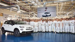 Fiat 500X, le SUV urbain passe la barre des 500 000 unités