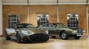 Aston Martin DBS Superleggera : Une série en hommage à James Bond