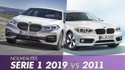 Nouvelle BMW Série 1 2019 vs ancienne : tout ce qui change