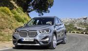 Une grosse calandre et une version hybride pour le BMW X1 restylé