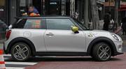 La Mini électrique Cooper S E surprise sans camouflage