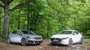 Essai Mazda 3 VS Peugeot 308 : leadership contesté