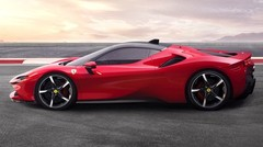 Ferrari SF90 Stradale plug-in hybride rechargeable (2019) : 1 000 ch