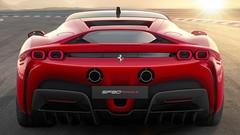 SF90 Stradale, première Ferrari hybride rechargeable