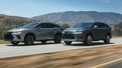 Léger restylage pour le Lexus RX
