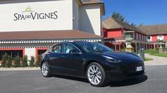 Essai Tesla Model 3 Grande autonomie : Ligne à grande vitesse