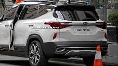 Le SUV Kia Seltos en avance