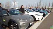 Voitures électriques : les autonomies à 130 et 150 km/h