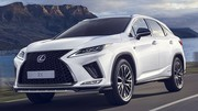 La Lexus RX450h encore plus incisive