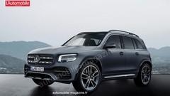Mercedes GLB : Les camouflages se font la malle