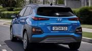 Hyundai dévoile une version hybride de son Kona