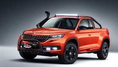 Skoda Mountiaq : le Kodiaq, version pick-up !