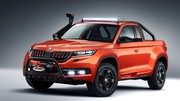 Skoda Mountiaq : voilà l'unique exemplaire de pick-up