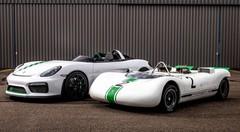 Porsche Bergspyder : Boxster Spyder extrême et cachée