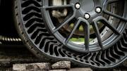 Michelin Uptis : le pneu sans air et increvable qui va devenir réalité