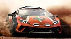Lamborghini Huracán Sterrato concept : tout-terrain et V10