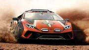 Lamborghini Huracán Sterrato concept : toujours V10, mais tout-terrain