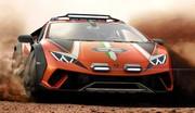 Lamborghini Huracan Sterrato : l'étonnant concept de supercar tout-terrain