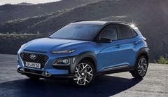 Hyundai Kona Hybrid (2019) et maintenant en version hybride