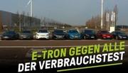 L'autonomie de plusieurs modèles électriques à 130 et 150 km/h
