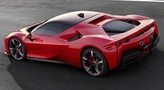 SF90 Stradale : Une Ferrari hybride rechargeable