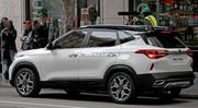Le futur SUV compact Kia Seltos de sortie