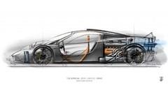 Gordon Murray annonce sa supercar T50 pour 2022