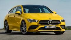 Nouveau Mercedes-AMG CLA 35 4Matic : 306 ch aussi pour la version Shooting Brake