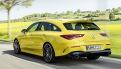 La Mercedes-AMG CLA 35 Shooting Brake est… très jaune