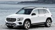 Mercedes GLB : les photos officielles du nouveau SUV à 7 places