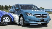 Airbag latéral extérieur testé par ZF