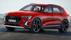 Futur Audi e-tron S (2020) : près de 600 ch sous haute tension