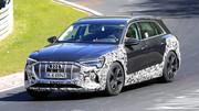 """Un Audi e-Tron quattro S surpris sur le """"Ring"""""""
