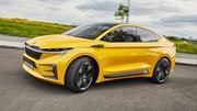 Skoda Concept Vision iV : la voiture 100 % électriqe de Skoda, c'est pour 2020
