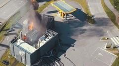 Une station d'hydrogène prend feu en Norvège