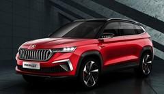 "Skoda Vision GT : Skoda présente son concept de ""SUV-coupé"" compact au salon de Shenzhen"