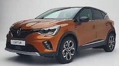 Le Renault Captur 2020 en fuite